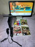 Nintendo Wii Console System Bundle Game Cube Compatible Controllers Sensor Cords