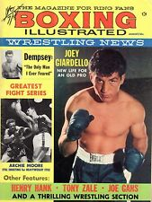 1960 Boxing Illustrated/Wrestling News magazine, Joey Giardello, Archie Moore