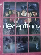 Angel Season 4 X9 Deceptions 1:11  Foil chase set Inkworks 2003 VFN