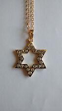 Jewish Star Necklace, 18 inch chain, Messianic Jewish Interest! Yeshua!
