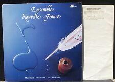 Musique ancienne du Québec : Molt, Glackemeyer - Ensemble Nouvelle-France