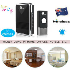 1byone Wireless Doorbell Chime AU Plugin Receiver Remote Control 100m Waterproof