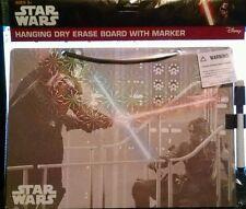 Star Wars Hanging Dry Erase Board with Marker Darth Vader & Luke Skywalker