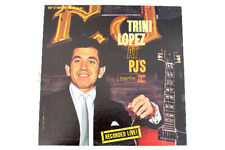 Trini Lopez At PJ's Recorded Live!  Reprise R9-6093 La Bamba Vinyl LP 1963