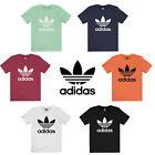 T-Shirt Adidas Mens Short-Sleeve Wear Blackbird Trefoil Logo Graphic
