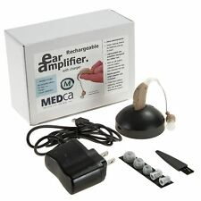 Hearing Device Amplifier Rechargable Hearing Aids Mini Listen Digital Adjustable