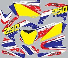 Graphic Kit for 1995-1996 Honda CR250 CR 250 shrouds fender plastic decals