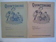 Protège cahier boisson Quintonine tables multiplication
