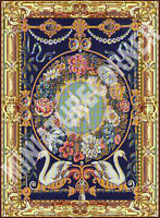 Dolls House Tapestry Printed Canvas Picture Wall Hanging Miniature 1/12th #207