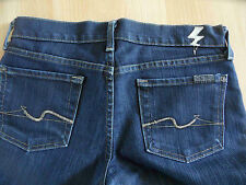 SEVEN FOR ALL MANKIND tolle dunkle Jeans straight Gr. 26 NEUw.  07-13