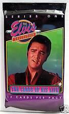 Elvis Presley 1992 Series #1 Unopened Pack 12 Cards #5