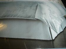 """Hotel Collection Wisteria King Bedskirt Blue New 16"""" Drop"""