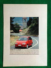 (AM8) Pubblicità Advertising Werbung Clipping - FIAT PUNTO GIUGIARO AUTO CAR
