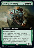 Feasting Troll King - Foil - Extended Art x1 Magic the Gathering 1x Throne of El
