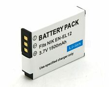 EN-EL12 Battery for Nikon Coolpix S6000 S6100 S6200 S6300 S610 S610C S620 Camera