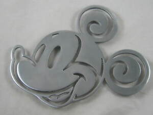 Disney Mickey Mouse metal trivet pan stand wall decor kitchenalia disneyana
