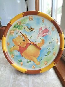 Disney Winnie the Pooh Puzzle Wall Clock (Free Shipping)