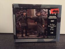 VERLINDEN Productions Top Brass German Officers WWII 2 Figures 1:35 Scale #1507