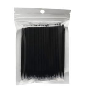 100 PCS Disposable Micro Brush Swab Applicators Eyelash Extension Mascara Wands