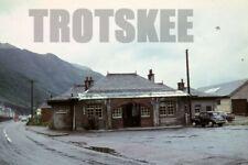 More details for 35mm slide br british railways scene ballachulish station exterior 1965 original