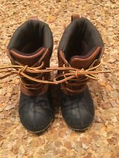 GAP Baby / Toddler Boys 7T/8T 3M Black Thinsulate Waterproof Duck Snow Boots