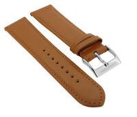 Junghans Meister Handaufzug   Uhrenarmband 20mm   Leder braun 32412