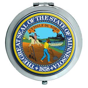 Minnesota Ee.uu. Espejo Compacto
