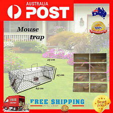 65cm Large Humane Live Animal Possums Rat Cat Rabbit Hare Bird Bait Rat Trap