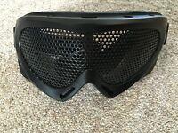 Nuprol Pro NP Mesh Goggles Eyewear Protection Black Brand New