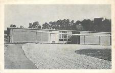 Cadiz Ohio~Cadiz Elementary School~Barn on Hilltop~1920s Postcard