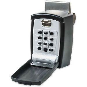 KeyGuard Pro SL-591 Car Window Punch Button Lock Box, Black