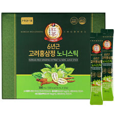 (10ml x 30 sticks) Jungwonsam Korea 6 years Red Ginseng Extract Noni Juice Stick