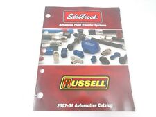 2007 - 2008 Edelbrock Russell Advance Fluid Transfer Systems Automotive Catalog