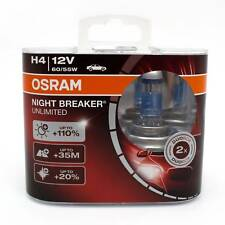 OSRAM Glühlampe Night Breaker Unlimited H4 2er-Box 64193NBU-HCB