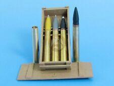 Eureka XXL 1/35 8.8cm Pzgr.Patr.39 APCBC Ammo & Crate Tiger I E KwK.36 A-3517