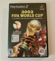 2002 FIFA World Cup (Sony PlayStation 2 PS2, 2002) Complete With Manual