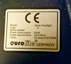 Eurolite UV Cannon