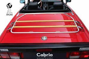 TRUNK LID CARRIER ALFA ROMEO SPIDER 105/115 1964-1994 DECKLID RACK > TRAVEL GEAR