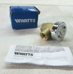 """Watts Anti Siphon Vacuum Breaker Silicone 1/2"""" FPT x FPT 792038 New"""