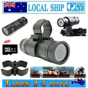 1080P Gun Camera For Rifle Hunting Shot Gun Bike Sports DV Action Bullet Cam+32G