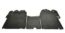 Rubber Carmats for Renault Trafic II 2002-2013 All Weather FRONT Floor Mats