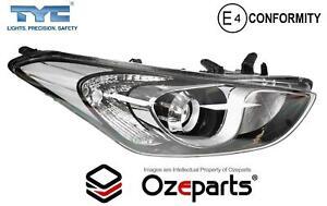 RH Right Hand Head Light Front Lamp Halogen For Hyundai I30 GD 2012~2017 Hatch