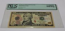 2009 Ten Dollar Star Note $ 10 FRB Chicago PCGS Graded 64 PPQ Very Choice New