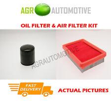 PETROL SERVICE KIT OIL AIR FILTER FOR HYUNDAI ACCENT ADMIRE 1.3 84 BHP 2003-05