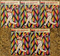 (5) Mike Trout LA Angels 2011 MLB Draft Limited Edition Rookie Card. 1,000 Made!