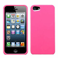 For Apple iPhone 5 5S SE HARD Protector Case Snap On Phone Cover Blush Pink