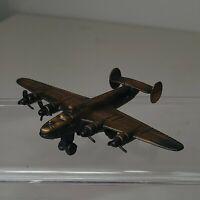 Vintage USAF B-24 Liberator Bomber Airplane Die-Cast Metal Pencil Sharpener *