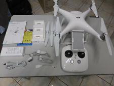 DJI Phantom 4 Drone,  4k Camera, New carry-case, 3 in 1 Charging Hub, White