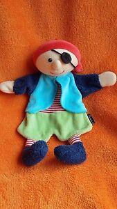 "Sterntaler Pirate Comforter Blankie Doudou Baby Soft Toy 10"""