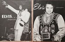 ELVIS PRESLEY TROUGH MY LENS 1974 & A LEGEND IN HIS OWN TIME 1976 S SHAVER 16 PG